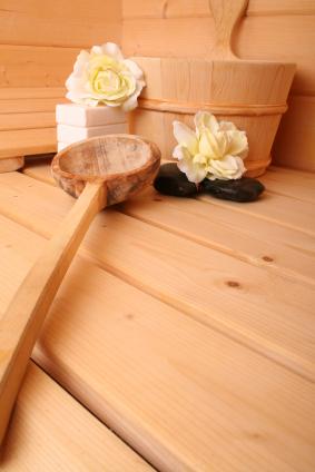 Sauna at Neringa hotel, Vilnius